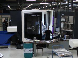 DMG MORI CNC bewerkingscentrum DMU 60 Evo - 120 HSK gereedschappen - IMPA Precision
