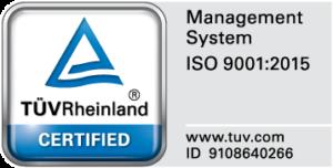 IMPA Precision is ISO 9001:2015 gecertificeerd